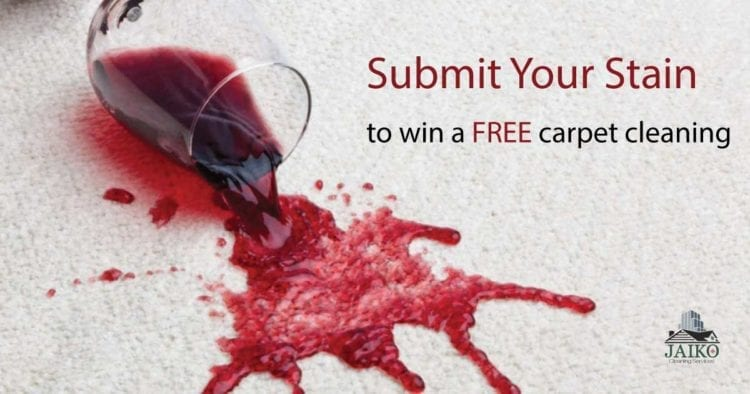 Submit your stain Facebook contest